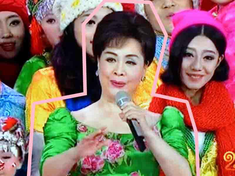 其实我眼里的春晚时尚idol,是李谷一老师~