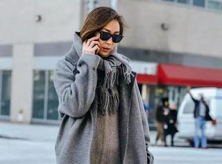 再冷围巾也别瞎戴,这样戴才最好看,漂亮又洋气!