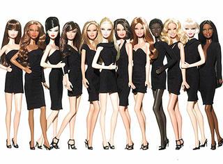 芭比在自己的所有社交账号上宣布,推出多种体型的芭比娃娃!