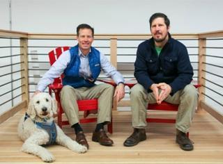 一家可以带狗上班的公司,感觉他们那的地位...人没狗高...