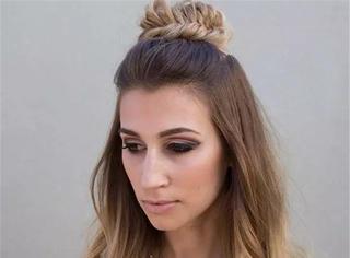 不是扎一半的发型都能叫公主头,这些才美到窒息