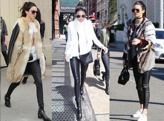 同是皮裤,为什么她能穿得这么好看!?