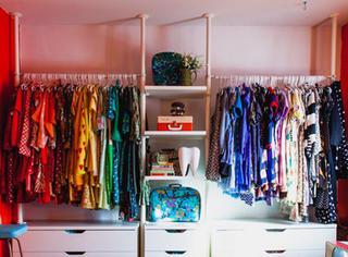 学一招|7个小步骤,让衣柜看起来整齐清洁!