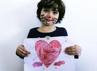 我来自叙利亚,这是我画的