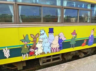 物语 | 一辆精灵世界的列车改变了一座城市的命运