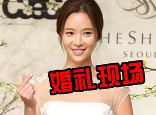 《她很漂亮》女主黄正音大婚,池晟和朴叙俊都来了