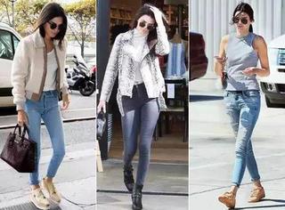 牛仔裤穿法大全,让你从春天开始,轻松时髦一整年!