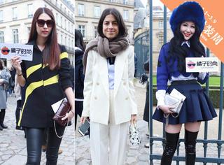 独家 | Dior秀场外街拍,最新的包包衣服和高跟鞋他们都穿了!