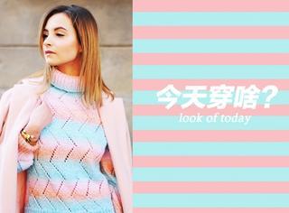 【今天穿啥】就算天气降温也要穿个清新彩虹色!