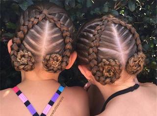 万万没想到,她每天给女儿扎一款辫子,结果惊艳了整个社交圈