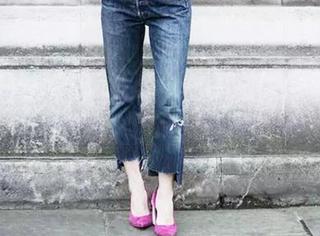 挽裤脚已经out了,今年最流行的裤脚长这样!