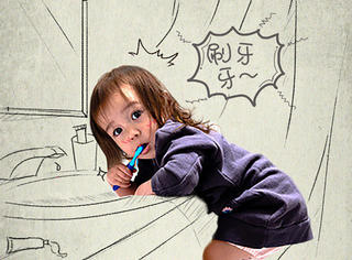 刷牙方式暴露你的爱情观