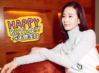 【今天她生日】刘诗诗:云淡风轻笑容恬静,误打误撞做了演员