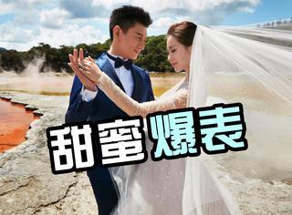 吴奇隆刘诗诗婚纱照终于来了,画面太养眼太美好!