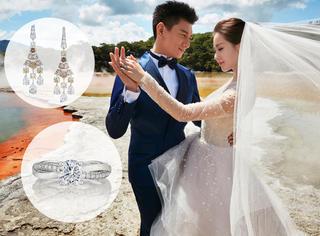 吴奇隆刘诗诗婚纱照,恩爱全秀在了70万的珠宝上!