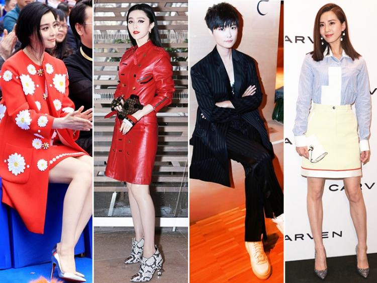 【本周女星穿衣榜】春春的帅,诗诗的美,范爷用两套红装全给你穿出来了!