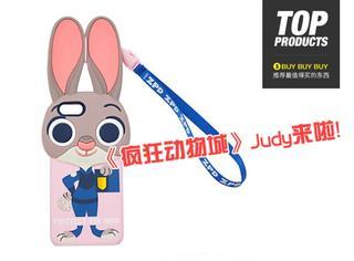【买买买】《疯狂动物城》的Judy手机壳来啦!