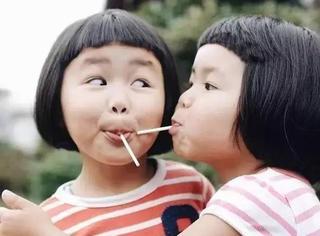 可爱到爆 | 二次元刘海+bob头,这对日本双胞胎我好想亲一口!