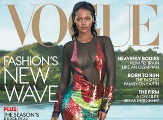 【时装片】Rihanna登上封面,标题神马的都让开!