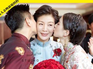 吴奇隆大婚丈母娘火了!原来刘诗诗的美丽,是遗传了妈妈的好基因
