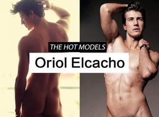 【舔屏】Oriol Elcacho本人的外号就叫 西班牙美男子!