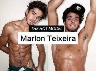 【舔屏】帅气逼人性感撩人的巴西小可爱Marlon Teixeira