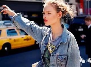 新鲜货| 如果春天只能剁手一件单品,我选择百搭又时髦的丹宁外套!