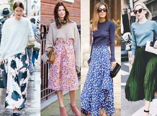 2016早春最佳搭配:针织衫+半身裙