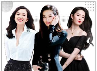 章子怡、刘诗诗、刘亦菲,学舞蹈出来的姑娘,气质仪态就是不一样!