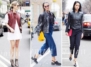 有图有真相| 皮衣+黑色高跟鞋才是配一脸的最佳CP!