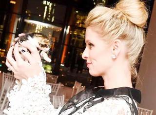 希尔顿二小姐Nicky Hilton:大肚孕妇也能潮爆街头!