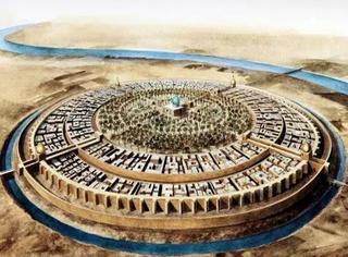 巴格达团城:真实存在过的「圆环套圆环娱乐城」