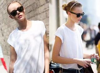 一件白T恤,走遍全天下
