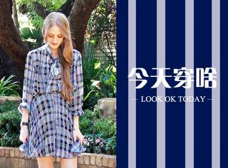 【今天穿啥】衬衣裙穿出春日小清新!