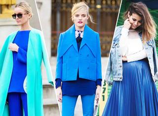 想要全世界都是你的配角,就先学会穿这种蓝!