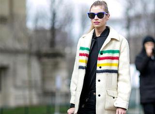 街拍 | 卫衣、T恤、运动套装...基础款单品也需要有点惊艳Feel!