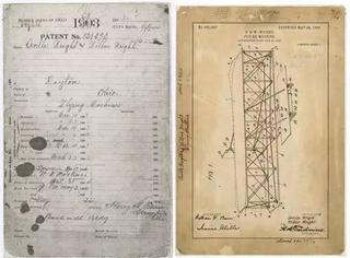 失踪了36年的莱特兄弟飞机专利文件,终于找到了