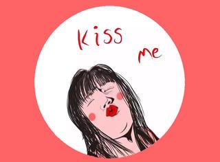 来来来,亲一亲,你最适合哪种接吻姿势?