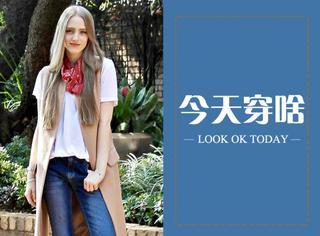 【今天穿啥】西装马甲配T恤,帅气又有型!