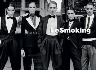 男装女穿!看范爷、杨幂如何用吸烟装穿出性感和不羁!