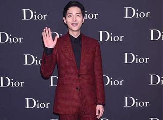 宋仲基、赤西仁等国民老公集体出席Dior Homme香港时装发布会!