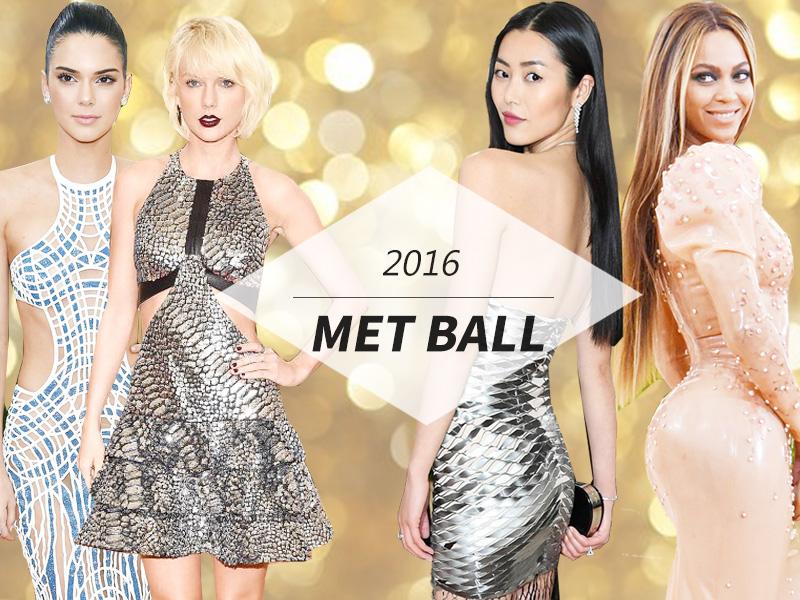 "2016Met Ball红毯   麦当娜""袒胸露乳"",碧昂斯橡胶礼服""光""屁股!"