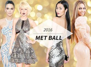 "2016Met Ball红毯 | 麦当娜""袒胸露乳"",碧昂斯橡胶礼服""光""屁股!"