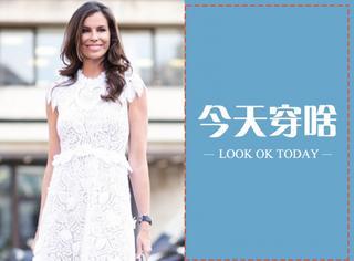 【今天穿啥】让蕾丝白裙开启你的夏天,你准备好了吗?