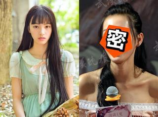 黄灿灿回武大宣传电影,但这照片为啥P都不P就给放出来了