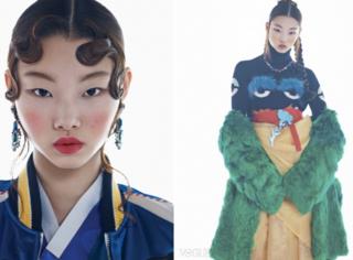 韩国版《VOGUE》揭露最时尚长相,不动刀的单眼皮才是自然美女哦!