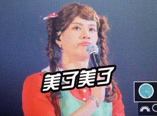 Got7演唱会女装初体验,麻花辫、水手服……简直比女生还要美!