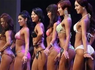 """韩国健美大赛,凹凸有致的""""女汉子""""令人血脉喷张!"""