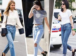 一条牛仔裤就能承包你整个夏天