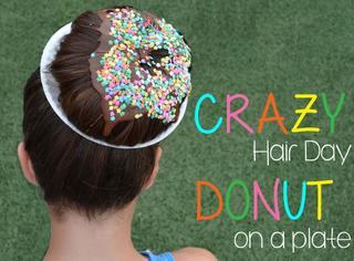 欧美的疯狂头发日,熊孩子们都快把头发玩坏了